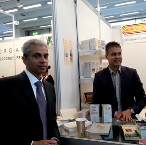Sri Lanka participates in Biofach for the first time with a country pavillion 2013 ,Nuremberg