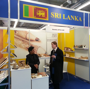 Sri Lanka makes their presence felt at the Paperworld exhibition held in Frankfurt